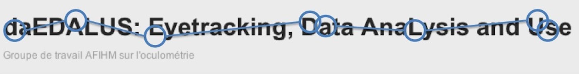 daEDALUS: Eyetracking, Data AnaLysis and Use